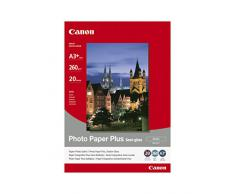 Canon SG-201 - Papel fotográfico plus semi brillante (A3+, 20 hojas, acabado satinado, 260g/m2)