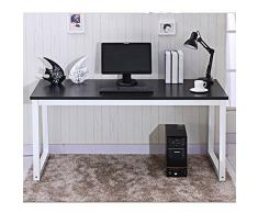 Moderno mueble de esquina para ordenador PC escritorio mesa de oficina en casa estudio/estación de trabajo UK
