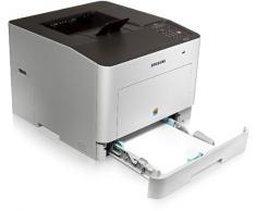Samsung CLP-680DW - Impresora láser (Ethernet, USB 2.0, LAN inalámbrica, 9600 x 600 DPI, A4, Laser, Gris, Papel bond, Cartulina, Sobres, Papel satinado, Etiquetas, Papel normal, Pre-Impreso, Papel reciclado)