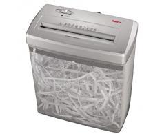 Hama CC 614L - Destructora de papel (corte en tiras), plateado