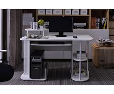 SixBros. Mesa de ordenador blanco - S-104/2081
