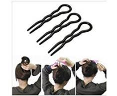 lsv-8 Magic Simple rápido en espiral trenza de pelo Twist estilo herramienta Oficina Lady estilo accesorios para el pelo