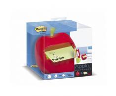 Post-It APL-330 - Dispensador de notas, diseño Manzana, color rojo