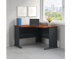 Serie en una esquina escritorio
