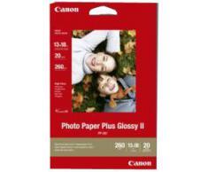 Canon 2311B018 - Papel Fotográfico Plus, 13x18 cm, 20 hojas brillo, 260g/m2, Unidades contenidas:1