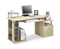 SixBros. Mesa de ordenador Arce - S-202A/87 - Estructura MDF Color arce