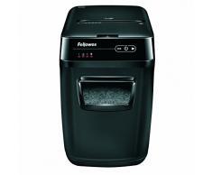 Fellowes AutoMax 200C - Destructora trituradora automática de papel, corte en partículas hasta 200 hojas string