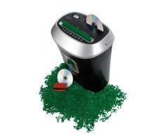Olympia PS 45 CCD - Trituradora de papel (4 x 35 mm, 10.5 kg, 230V, 50Hz, 280 W), capacidad 80 g/m², 10 paginas, tambien DVD, CD y tarjetas de crédito, color negro/plata