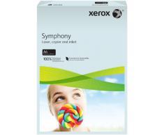 Xerox 003R93222 - Papel de impresión de color, Symphony, Din A4, 160 g/m², 250 hojas, color azul