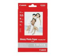 "Canon GP-501 Glossy Photo Paper - Papel fotográfico (100 x 150 mm, 4x6"")"