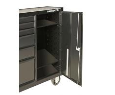 Bahco - Bandeja metalico/a ajustable para carros con armario lateral