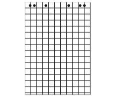 Landre 100050592 - Blocs para rotafolio, 68 x 99 cm, 20 hojas, 80 g/m², 5 unidades
