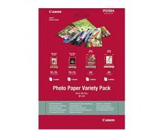Canon 0775B079 - Pack de 20 hojas de papel fotográfico, A4, 10 x 15 cm, 1 unidad
