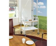 Bandeja carro | orden tlicher camarera con 2 estantes, oficina carro, cantinas Carrito Gastronomía (en calidad profesional