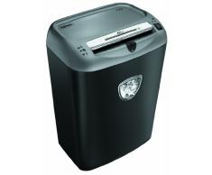 Fellowes 75Cs - Destructora trituradora de papel, hasta 12 hojas, color negro