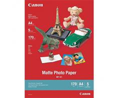 Canon MP-101 - Papel fotográfico mate, 5 hojas