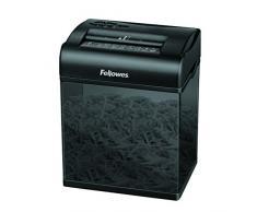 Fellowes Shredmate - Destructora trituradora de papel, corte en partículas, 4 hojas, gris