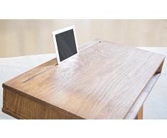 Mesa de escritorio de madera maciza, Mesa de despacho, Consola de entrada, fabricado a mano en España, MadeinSpain, estilo escandinavo, estilo nórdico, diseño vintage, madera maciza natural, terminación cera natural.
