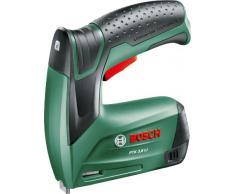 Bosch 0.603.968.100 - Grapadora a batería (3,6 W, 3,6 V) color verde
