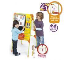 Chicos-Mi Pizarra De Artista Magnética Extensible y con Accesorios Infantil, 75.4 x 51.1 x 9.7 (52172)