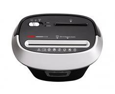 Geha X12 CD - Destructora (corte en partículas, para 12 hojas de papel, destruye CD/DVD/tarjeta de crédito/clips, 25 lts de capacidad)