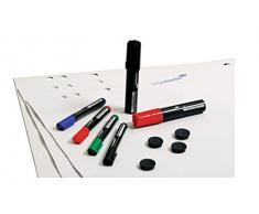 Rotafolio Starter Kit, para rotafolios, equipo básico de accesorios Legamaster