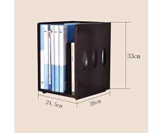 PIAOLING Librerías Estante Simple for archivadores de Madera Maciza Escritorio en la estantería Estantes de Escritorio Pequeña estantería Organizador Simple
