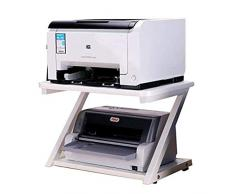 Carro de impresora móvil Impresora estante de múltiples funciones de múltiples capas de almacenamiento de oficina de escritorio simple copiadora estantes de almacenamiento de documentos Soporte de máq