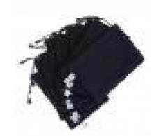 Gazechimp 10pcs A4 Bolso para Poner Documentos De Oficina Suministros Sostenedor Accesorios Oficina de Plàstico - Azul Oscuro