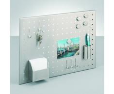 Zeller 11125 - Pizarra magnética para notas con accesorios (50 x 35 cm)