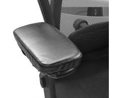 Sue Supply Cojín de piel sintética para reposabrazos y reposabrazos de silla de oficina, universal, para el hogar y el reposabrazos de silla de ruedas, ideal para reposabrazos