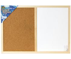 Idena 568016 IDENA - Pizarra con tablón de corcho (aprox. 40 x 60 cm) [Importado de Alemania]
