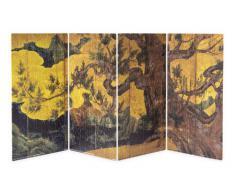 Biombo figura 480 Unidad cipr?s 2301-01 Arte destacan Puzzles pantalla plegable (21 x 11.2cm x 4 set) (jap?n importaci?n)