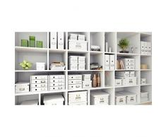 Leitz 60420062 caja y organizador para almacenaje de archivos - Organizador de almacenaje (Púrpura, 206 x 147 x 352 mm)