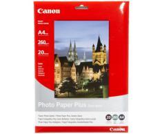Canon 1686B021 - Papel fotográfico A4 (20 hojas, 260 gramos, semi-brillante)