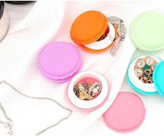 Generic Multi: 5pcs/set Mini Candy Color portátil caja de almacenamiento Caja de plástico contenedor caja de joyas desechos Kit Oficina cajón organizador accesorios