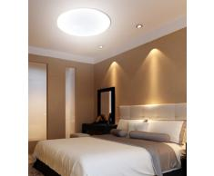 Mantra - Plafón de techo Led Osram 55 Watios 3800 Lúmenes, regulable en intensidad y cambio de temperatura de color. Colección Zero 3673