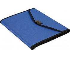 Dufco 51500.03812 - Carpeta de conferencias (blanda, nailon, A4), color azul/negro