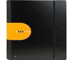 EXACOMPTA 53534E - Carpeta archivadora 320 x 285 para A4 color negro