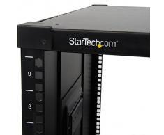 StarTech.Com RK960CP - Rack Portátil 9U con Mangos de Agarre para Servidores - Armario Rodante para Servidores