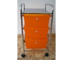 Baño Armario, badtrolley, Roll Contenedor, Oficina Armario, ruedas, 3 cajones, baño estante