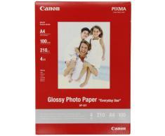 Canon GP-501 - Papel fotográfico A4 con brillo (100 hojas, 210g/m2, uso diario)