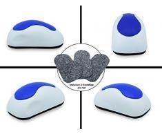 nekava Borrador de pizarra con 3 para filze Limpia Pizarra blanca, magnético pizarras, rotafolios, pizarras y tablas de Memo, abziehbare & etiqueta filze proporcionan una vida útil a largo plazo