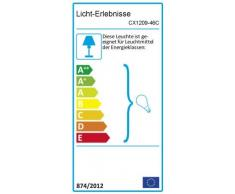 Aplique de pared E27 AMSTERDAM resistente a la intemperie B:32cm lámpara ovalada de exterior antracita puerta de casa