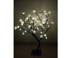 Spetebo - Árbol con iluminación led (50 cm, 48 ledes, luz blanca cálida)