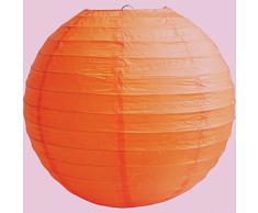 "Matissa 12""(30CM) Lámparas de techo esféricas de papel (pack de 6) (Naranja)"