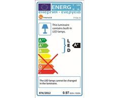 C-star Lámpara Escritorio LED, Lámparas de Mesa USB Regulable (5 Modos,10 Niveles de Brillo,Temporizador de 30/60min) Lámpara de Mesa,Lámpara de Oficina para Leer,Estudiar,Relajamiento,Blanco