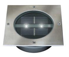 Ranex RA-2605040 - Foco solar LED para suelos, forma cuadrada