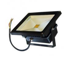 LEDVero - Foco LED (20 W), color negro