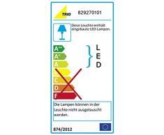 Trio Lifestyle 829270101 - Foco de pared, iluminación de interior, LED, COB, 5 W, 345 lm, 3000 K, blanco